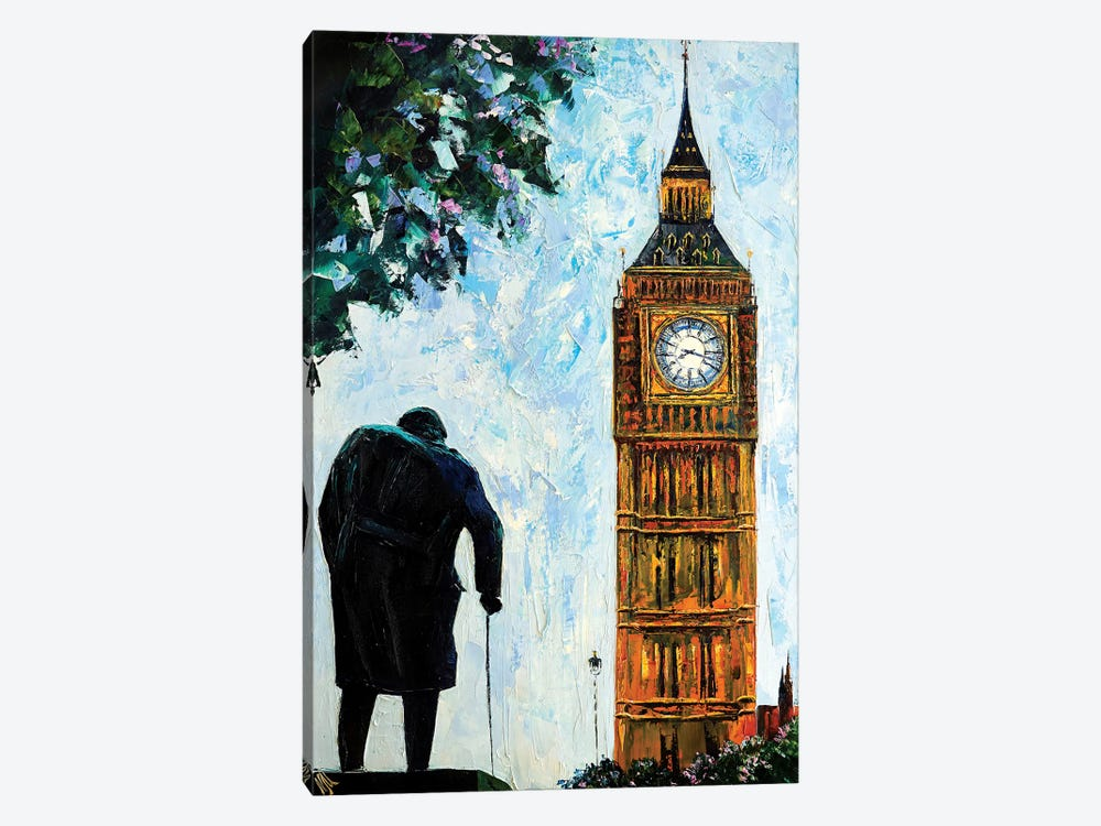 Big Ben by Natasha Mylius 1-piece Canvas Wall Art