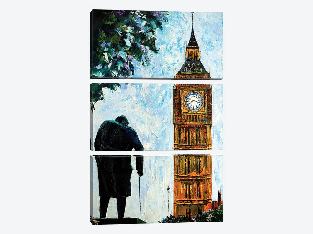 Big Ben by Natasha Mylius 3-piece Canvas Artwork