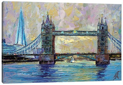 Tower Bridge Canvas Art Print