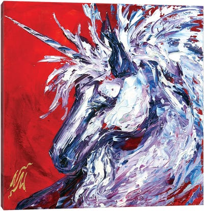 Unicorn Canvas Art Print