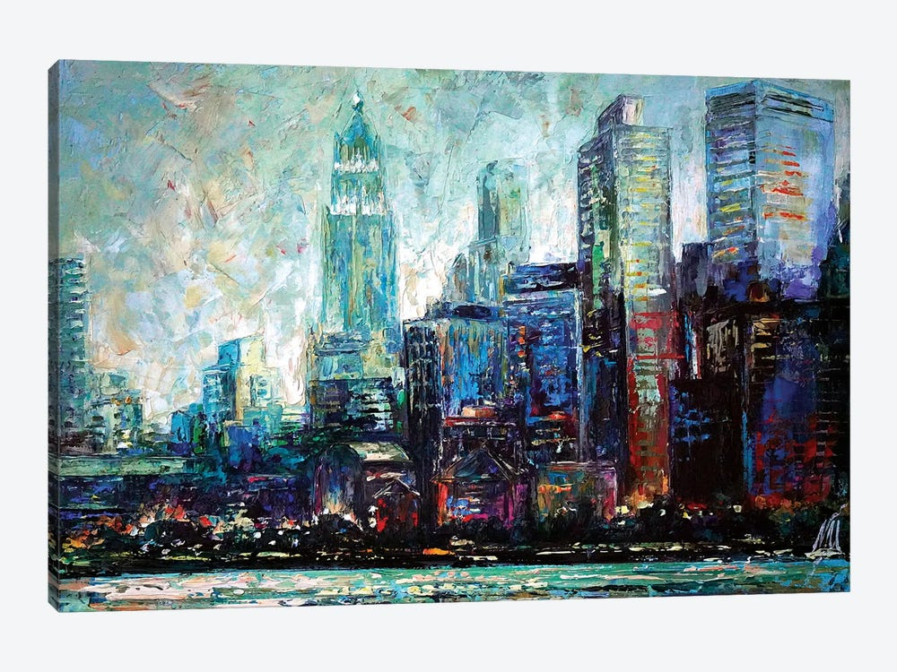 View From Hudson by Natasha Mylius 1-piece Art Print
