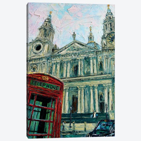 View Of The Saint Pauls Canvas Print #NMY66} by Natasha Mylius Canvas Print