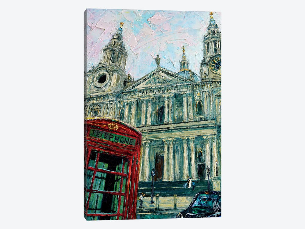 View Of The Saint Pauls by Natasha Mylius 1-piece Canvas Print
