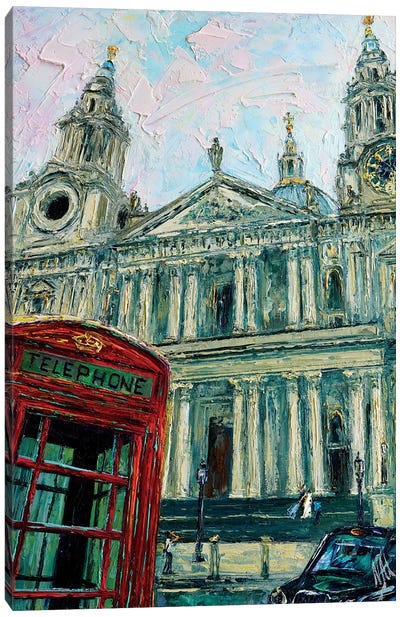View Of The Saint Pauls Canvas Art Print