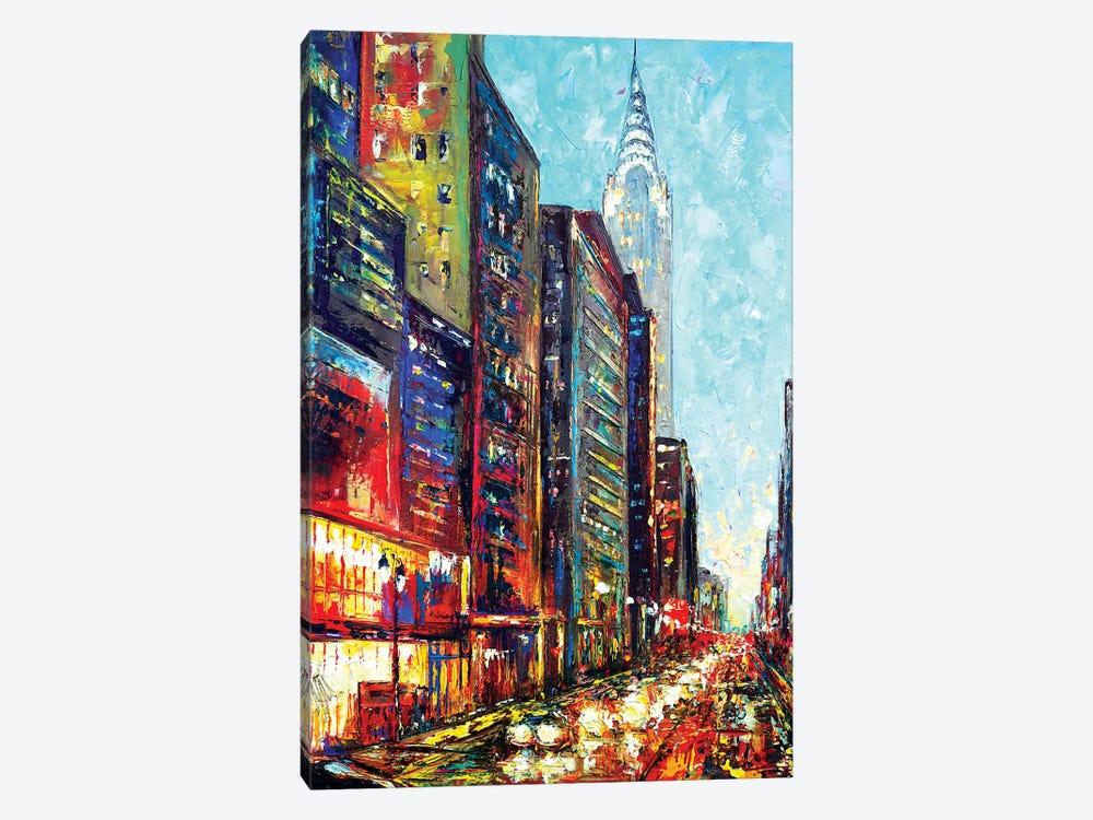 View With Chrysler Bldg by Natasha Mylius 1-piece Canvas Artwork
