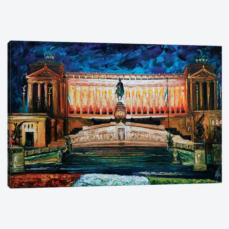 Vittoriano Canvas Print #NMY69} by Natasha Mylius Canvas Artwork