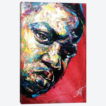 Biggie Smalls Canvas Print #NMY6} by Natasha Mylius Canvas Artwork