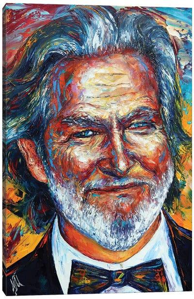 Jeff Bridges Canvas Art Print