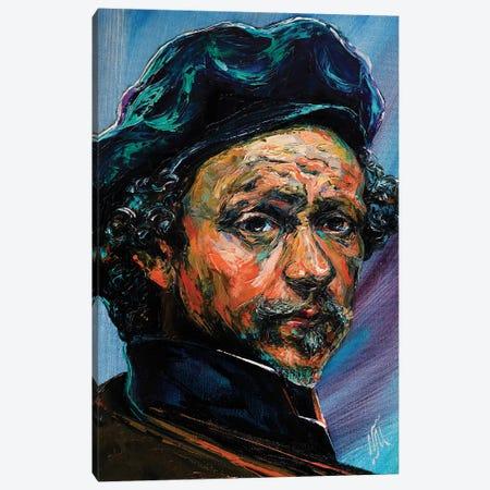 Rembrandt Canvas Print #NMY82} by Natasha Mylius Canvas Art