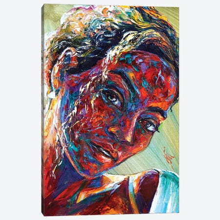 Beyoncé Canvas Print #NMY83} by Natasha Mylius Canvas Art
