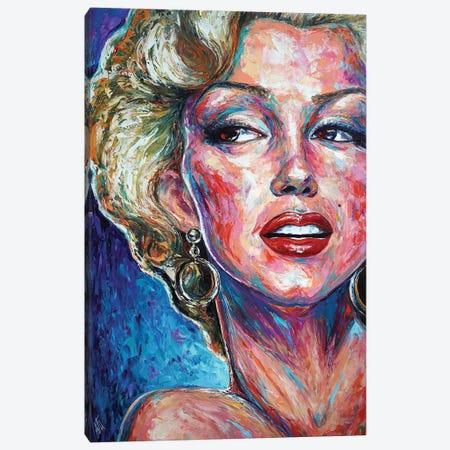 Marilyn Monroe Canvas Print #NMY87} by Natasha Mylius Canvas Art Print