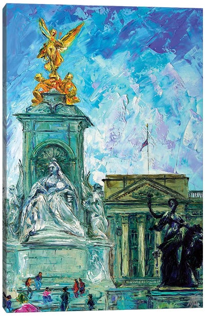Buckingham Palace Canvas Art Print