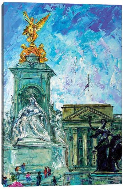 Buckingham Palace Canvas Art Print