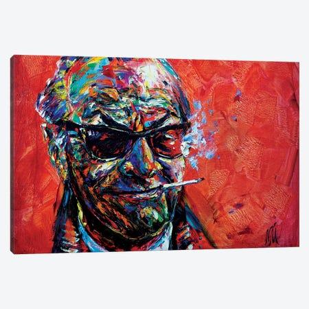 Jack Nicholson Canvas Print #NMY93} by Natasha Mylius Canvas Art Print