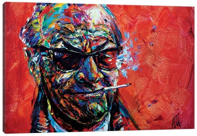 Jack Nicholson Canvas Art Print