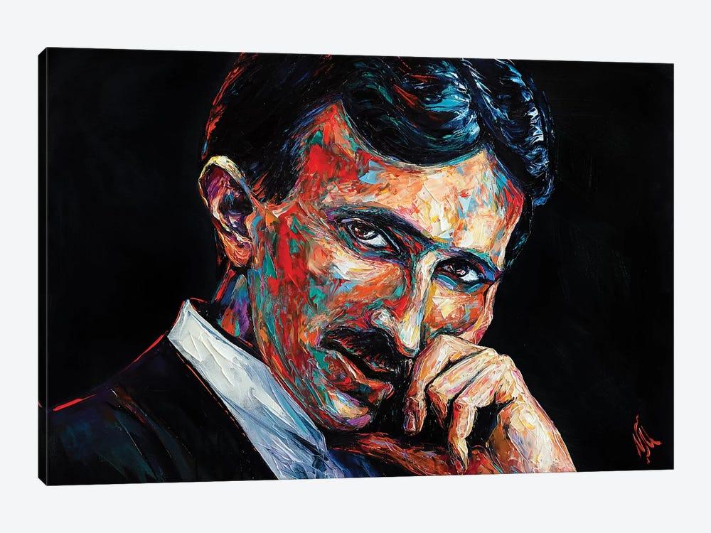 Nikola Tesla by Natasha Mylius 1-piece Art Print
