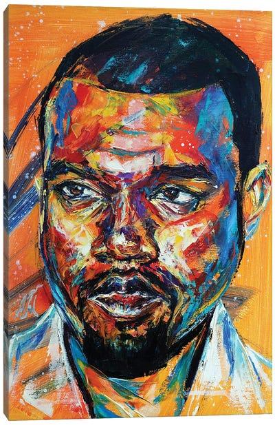 Kanye West Canvas Art Print