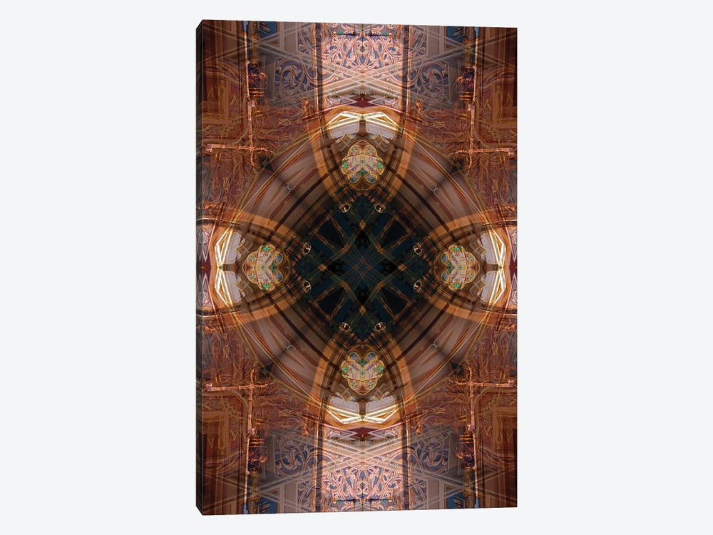 Colorful kaleidoscope. by Anna Miller 1-piece Canvas Artwork