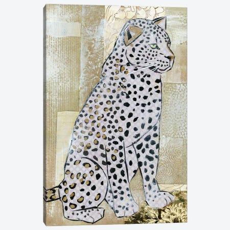 Leopard Beauty Canvas Print #NNM10} by Jenny McGee Canvas Art Print