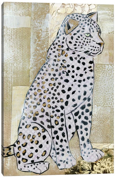 Leopard Beauty Canvas Art Print