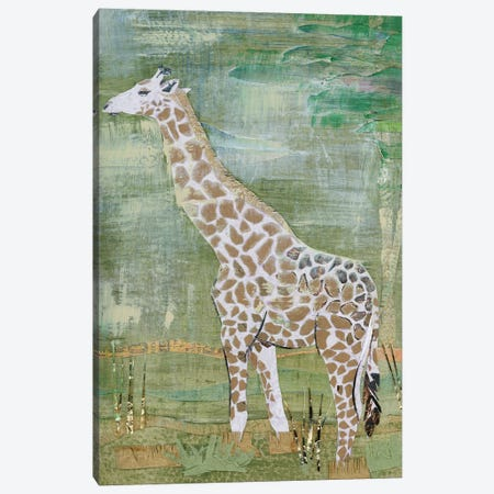 Majestic Giraffe Canvas Print #NNM13} by Jenny McGee Canvas Print