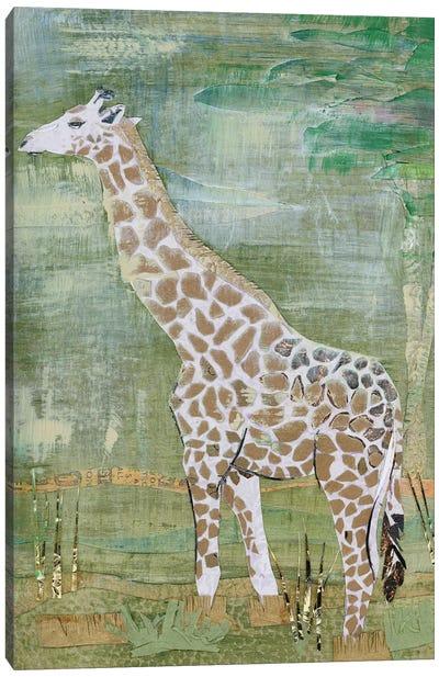 Majestic Giraffe Canvas Art Print