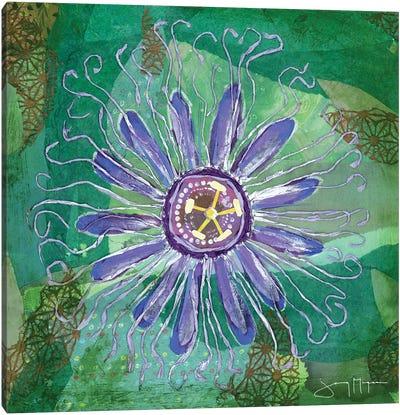 Passion Flower I Canvas Art Print
