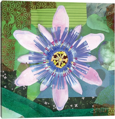Passion Flower II Canvas Art Print