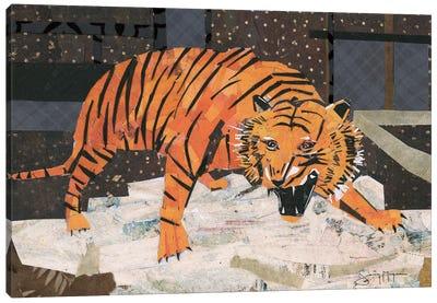 Roaring Tiger Canvas Art Print