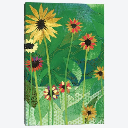 Sunflowers Canvas Print #NNM18} by Jenny McGee Art Print