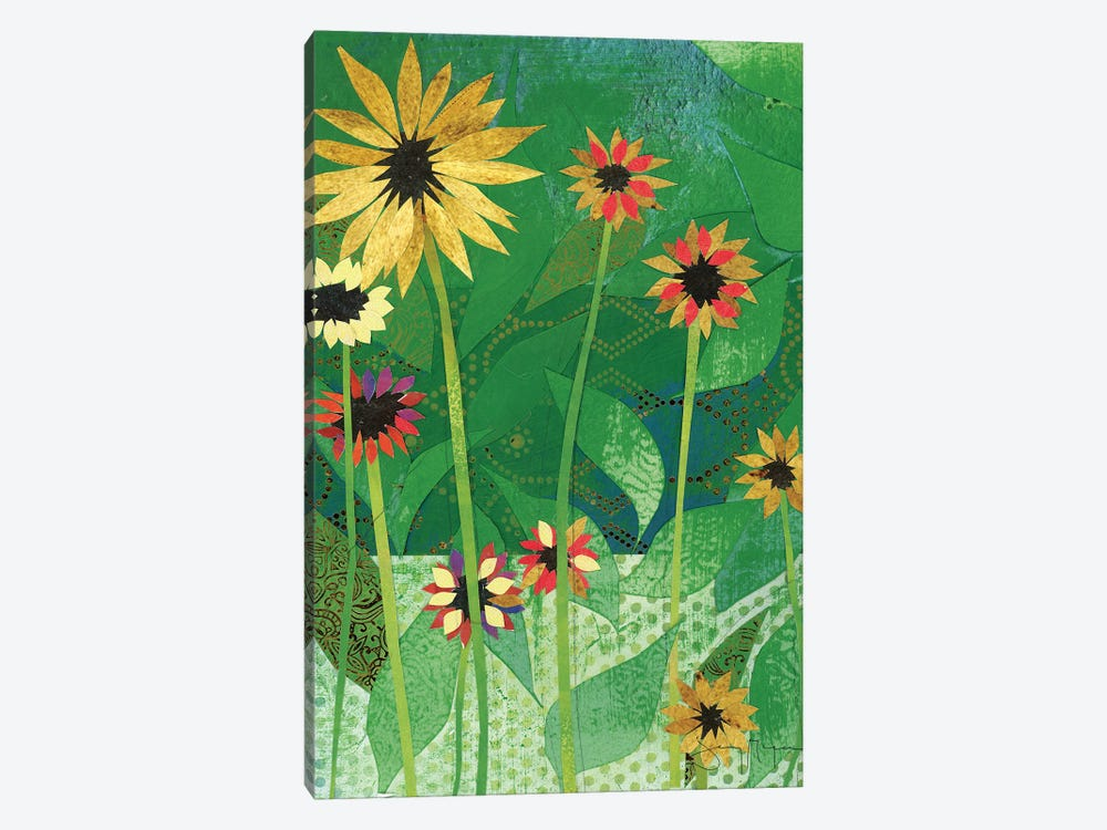 Sunflowers by Jenny McGee 1-piece Canvas Artwork
