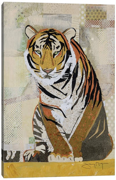 Tiger Perseverance Canvas Art Print