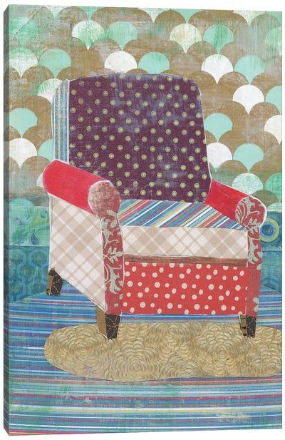 Artist Chair Canvas Art Print