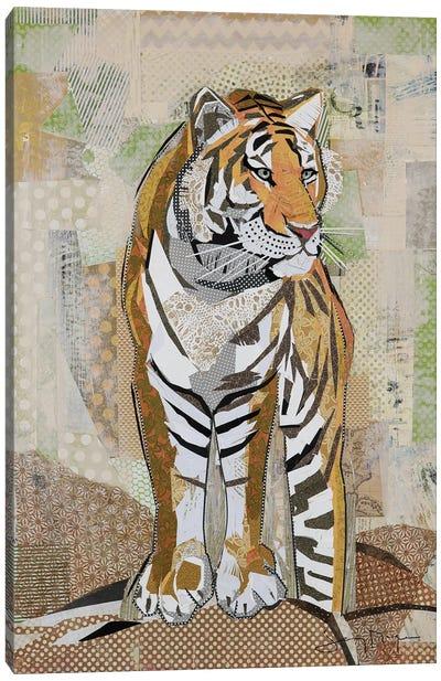 Tiger Strength Canvas Art Print