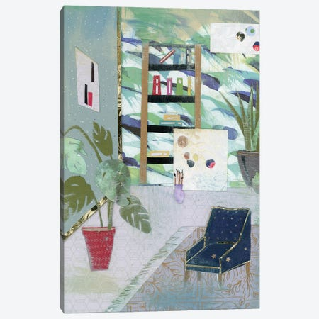 Artist's Studio Canvas Print #NNM2} by Jenny McGee Art Print