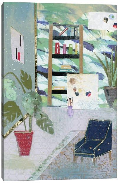 Artist's Studio Canvas Art Print