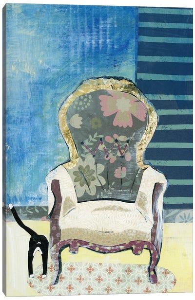 Comfy Chair Canvas Art Print