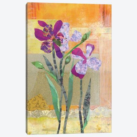 Iris V Canvas Print #NNM9} by Jenny McGee Art Print