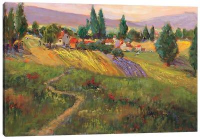 Vineyard Tapestry III Canvas Art Print