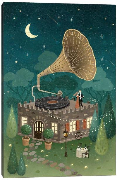 Dancing Under The Stars Canvas Art Print