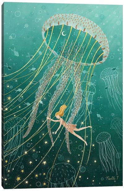 Dreaming In The Ocean Canvas Art Print