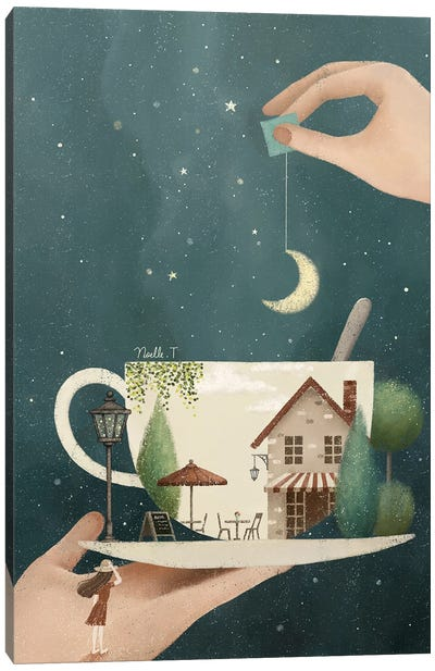 A Cup Of Dream Canvas Art Print