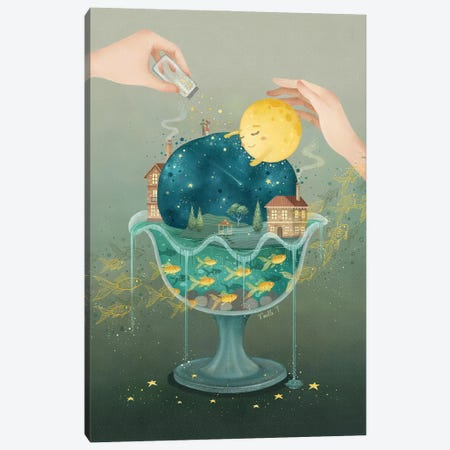 Sweet, Sweet Dreams Canvas Print #NOE26} by Noelle. T Canvas Wall Art