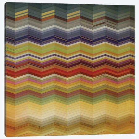 Color & Cadence I 3-Piece Canvas #NOH12} by NOAH Art Print