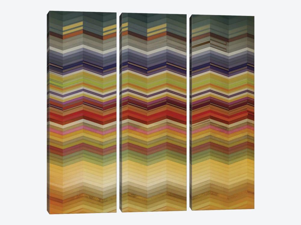 Color & Cadence I by NOAH 3-piece Canvas Art