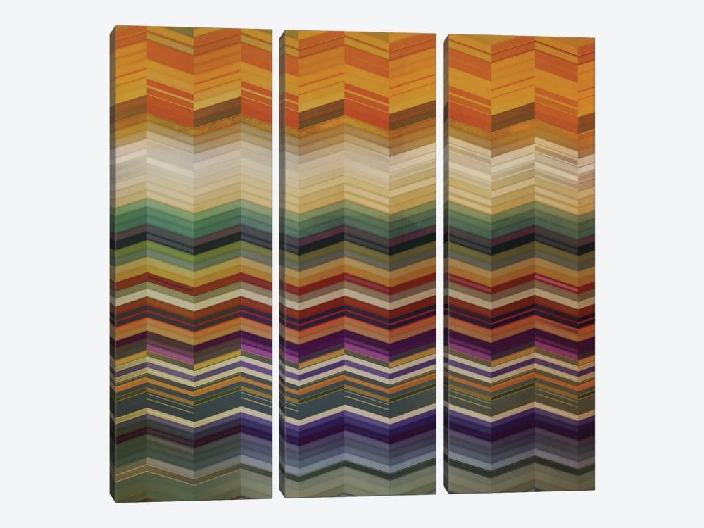 Color & Cadence II by NOAH 3-piece Canvas Print