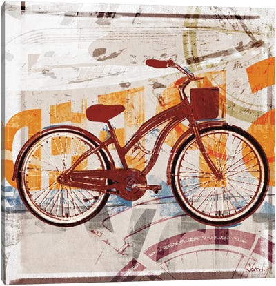 Cruising Canvas Art Print