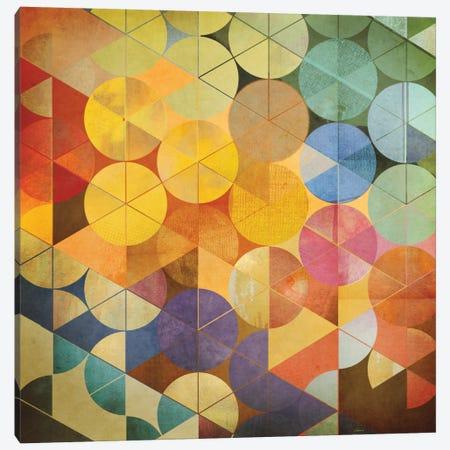 Full Circle I Canvas Print #NOH18} by NOAH Canvas Print