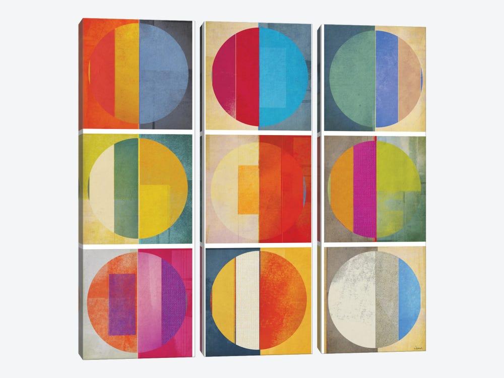 Pattern Tiles I by NOAH 3-piece Canvas Art