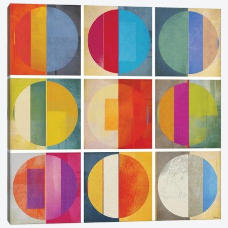 Pattern Tiles I Canvas Print #NOH23} by NOAH Canvas Art